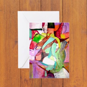 colorful-with-foot-greeting-card-sample