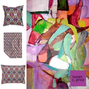 colorful-w-foot-blanket-pillow-sham-roostery-susan-c-price-insta