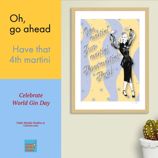 UMS-one-martini-two-martini-poster-curioos-ad