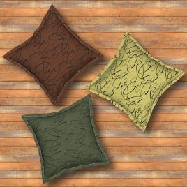 Unkie Monkie Studios Throw Pillows